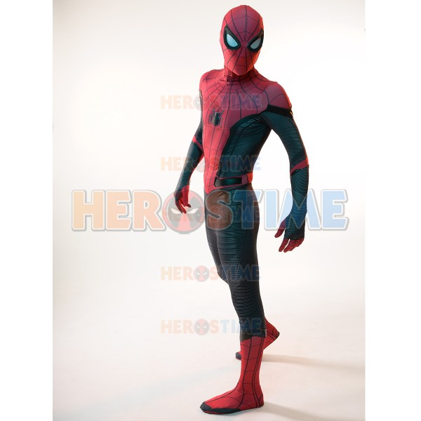 Spider Man Halloween Costume Adults.Spider Man Far From Home Spiderman Costume Kids Adult Cosplay