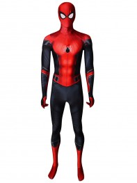 Spider-Man:Far From Home Printed Spider-Man Cosplay Costume