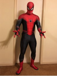 Spider-Man Suit Far From Home Printed Spider-Man Costume