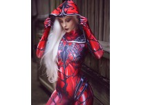 Carnage Gwen Spider Female Dye-sub Printing Cosplay Costume