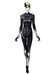 Black Cat Suit Spider-man: The Heist Black Cat Cosplay Costume
