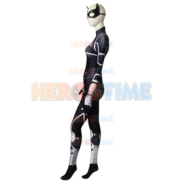Black Cat Suit The Heist Black Cat Cosplay Costume Spider-man Superhero Costume