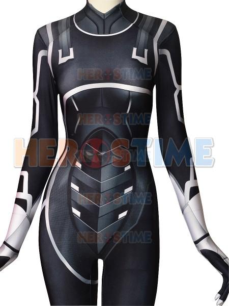 Black Cat Suit Spider Man The Heist Black Cat Cosplay Costume