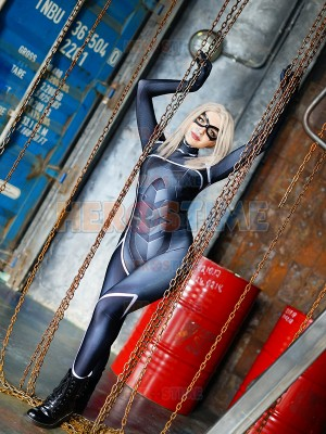 Black Cat Suit Spider-man: The Heist Version Costume