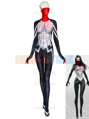 Silk Suit Cindy Moon Female Printing Cosplay Costume