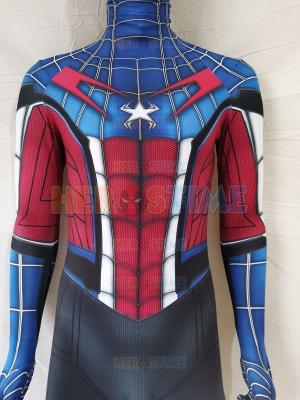 Captain Spider Homecoming Costume Custom Spider-Man Costume