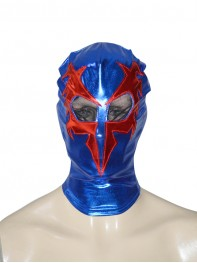 Spider-man 2099 Shiny Metallic Superhero Hood