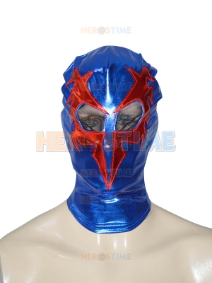 Spider-man 2099 Shiny Metallic Superhero Hood