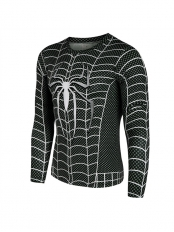 The Amazing SpiderMan 2 Black 3D Superhero Quick Dry Tops
