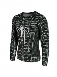 The Amazing SpiderMan 2 Black 3D Superhero Quick Dry Tops