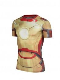 Iron Man New Men's 3D Quick Dry T-shirt