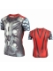 Strong 3D Thor Superhero Mens Short Sleeve Cycling T-Shirts Sport Quick Dry