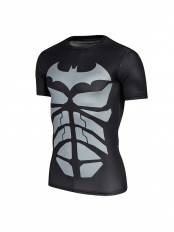 The Dark Knight Superhero Short Sleeve Slim Fit Sport Quick Dry T-shirt