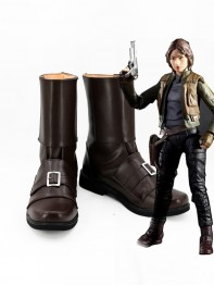Rogue One: A Star Wars Story Jyn Erso Cosplay Boots
