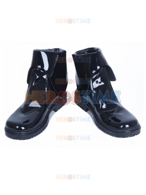 Star Wars: The Force Awakens White Soldier Black Cosplay Boots