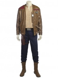 Star Wars: The Last Jedi Costume Finn Cosplay Suit