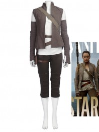 Star Wars: The Last Jedi Costume Rey Cosplay Suit