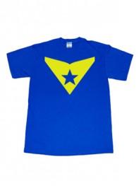 DC Comics Booster Gold Smallville Superhero T-shirt