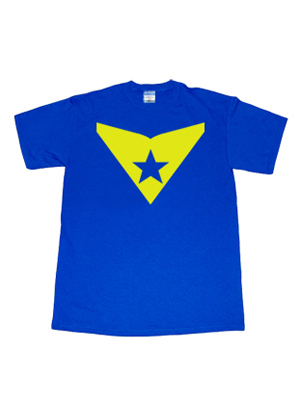 Dc Comics Booster Gold Smallville Superhero T Shirt