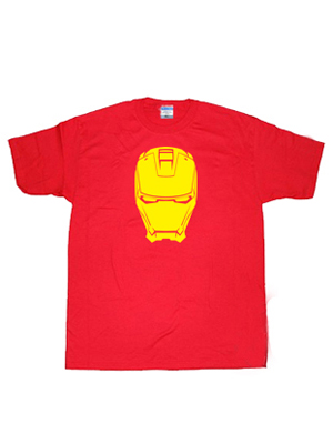 2013 Hot Iron Man Armored Superhero T-shirt