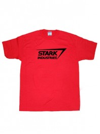Stark Industries Marvel Iron Man Movie Superhero T-shirt