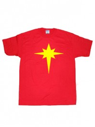Captain Marvel Mar-Vell Symbol T-shirt