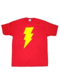 Captain Marvel Shazam Symbol T-shirt