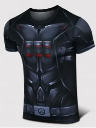 Overwatch Reaper Spandex/Lycra Cosplay T-shirt