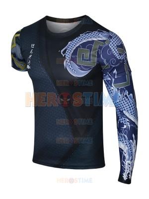 Overwatch Shimada Hanzo Spandex/Lycra Cosplay T-shirt