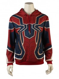 Iron Spider Sweater Spider-Man Homecoming Iron Spider Hoodies