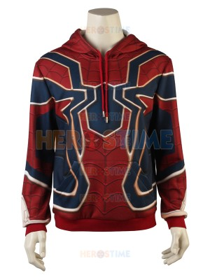 Iron Spider Sweater Spider-Man Homecoming Iron Spider Hoodies