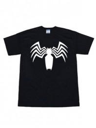 Venom Symbiote Marvel Logo T-Shirt