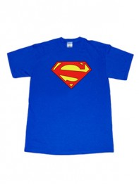 Superman DC Comics Classic Logo Superhero T-shirt