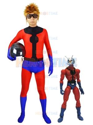 Spandex Marvel Superhero Ant-Man Superhero Costume