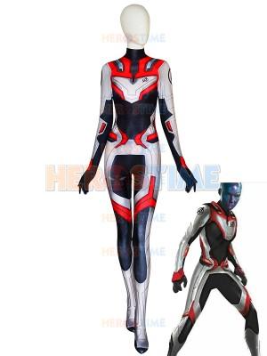 2019 Avengers: Endgame Quantum Realm Female Printed Cosplay Costume