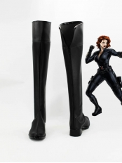 Black Widow Marvel Comics Avengers Superhero Boots