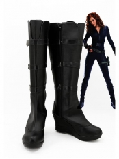 Iron Man 2 Black Widow Cosplay Boots