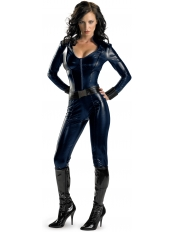 Iron Man 2 Black Widow Shiny Metallic Superhero Costume