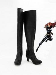 Marvel Comics Avengers Black Widow Superhero Boots