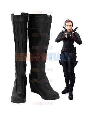 Avengers Endgame Black Widow Superhero Cosplay Boots