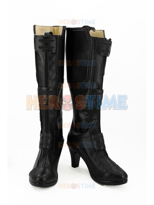 Black Widow Shoes Avengers Infinity War Version Cosplay Boots
