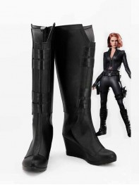 The Avengers Black Widow Age of Ultron Custom Cosplay Boots