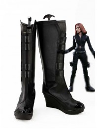 The Avengers Black Widow Superhero Cosplay Boots