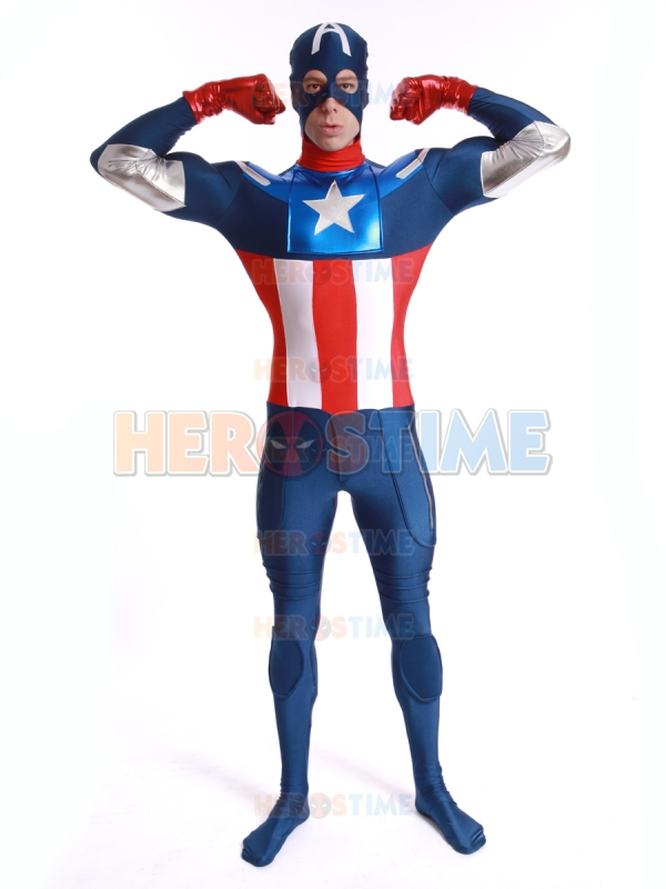 Marvel Comics Captain America Costume
