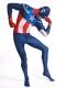 Disfraz de superhéroe Capitán América Spandex