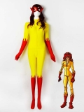 Marvel Comics Firestar Spandex Superhero Costume