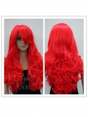 Marvel Firestar Female Superhero Long Fiber Wig