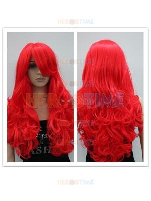 Firestar Female Superhero Long Fiber Wig