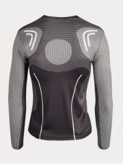 First Version Black Iron Man Superhero Quick Dry Sports