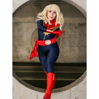 2018 Newest MsMarvel Carol Danvers Female Superhero Costume